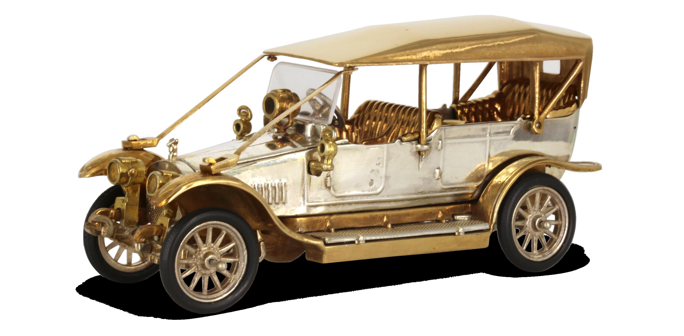 Руссо-Балт С-24/40 с металлической крышей